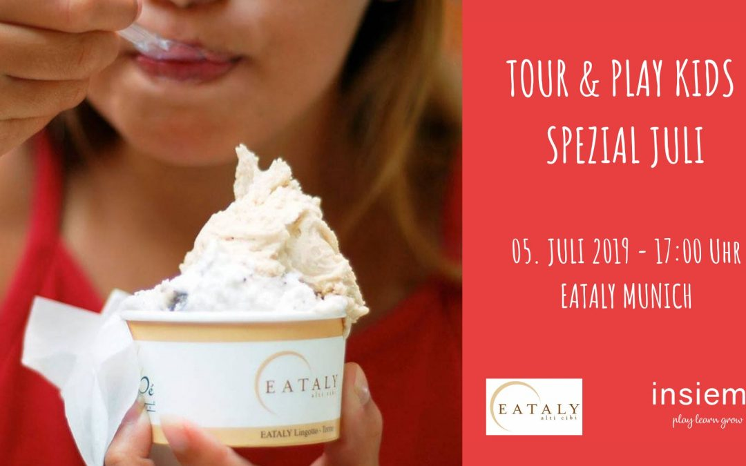 Tour & Play Kids – Speciale gelato