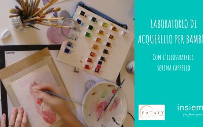 Laboratorio di acquerello per bambini (2-12 anni)